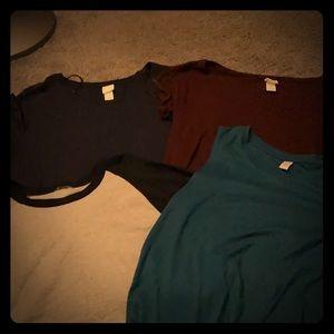 Bundle of medium shirts